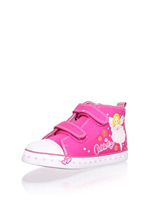 Pablosky Kid's Fairy High-Top Sneaker (Fuchsia)