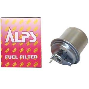 【クリックで詳細表示】Amazon.co.jp | アルプス/ALPS フューエルフィルター AF-411 ミツビシ ジープ J26.38.46.56 4G53 2400cc 1979年11月~ | 車&バイク