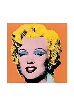 Artopweb Wandbild Warhol Shot Orange Marilyn, 1964 - 25X25 cm mehrfarbig