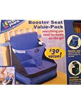 3-piece booster value set (Booster Seat, 4 Spill-proof cups, insulated meal tote)