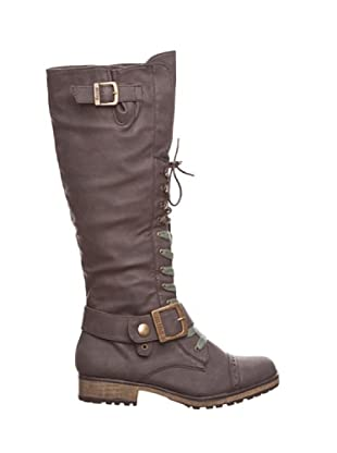 Mustang Bota Casual (Chocolate)