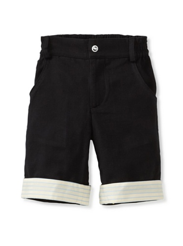 A for Apple Kin Shorts (Black)