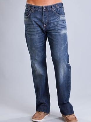 Timberland Pantalón Vaquero Botones (Azul Oscuro)