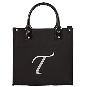 "Danielle D6660T Monogrammed Lunch Tote ""T"""