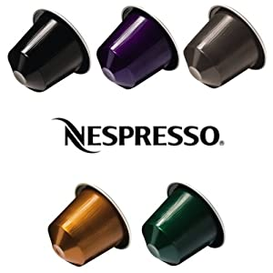 Nespresso Coffee Pods 50 pcs Mixed Variety