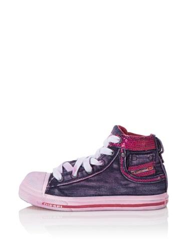 Diesel Kids Exposure Sneaker (Purple/Pink)