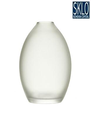 Cristal de Bohemia Florero Tao H 28 Cm Azul