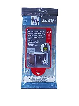 MSV Set Paquete De Toallitas Para Microondas 20 Uds.