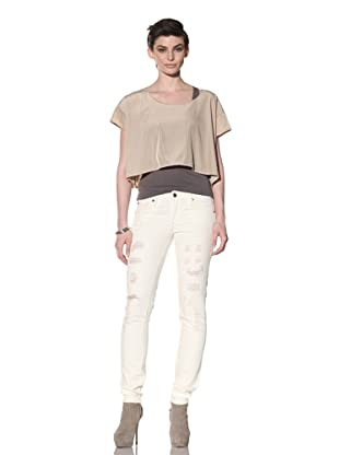 Workcustom Women's Viper Skinny Jeans (Natural Destroy)