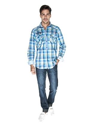 Giorgio Di Mare Camisa Antious (Azul)