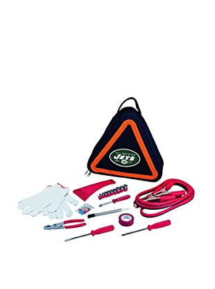 Picnic Time NFL New York Jets Roadside Vehicle Emergency Kit