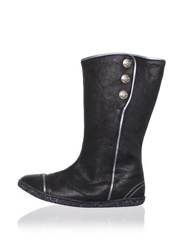 Kickers Kid's Bakula Boot (Toddler/Little Kid) (Black)