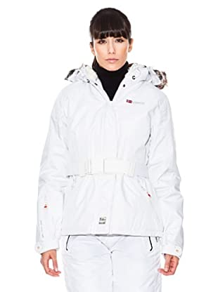 Geographical Norway / Anapurna Anorak Amelie (blanco)