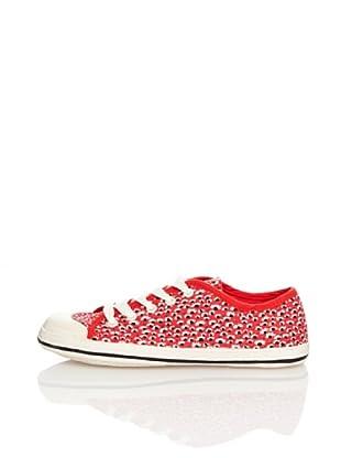 Springfield Zapatillas Flores (Rojo)