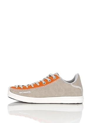 Scarpa Zapatillas Visual (Gris / Naranja)