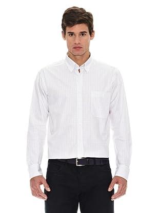Turrau Camisa Cuadro Ventana Medio (Marrón / Beig)
