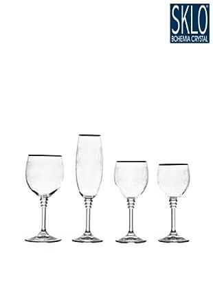 Cristal de Bohemia Cristalería 48 Piezas ícaro
