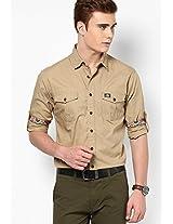 Khaki Casual Shirt
