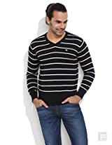 Wrangler Dapper Striped Knit Pullover
