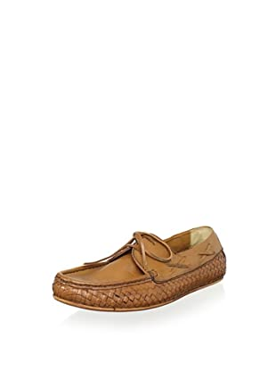 H by Hudson Men's Cabana Woven Loafer (Tan)