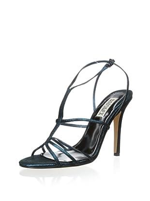 Badgley Mischka Women's Vivian Sandal (Teal Metallic)