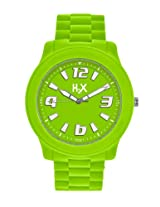 H2X Splash Analog Green Dial Unisex watch - SG381XG2
