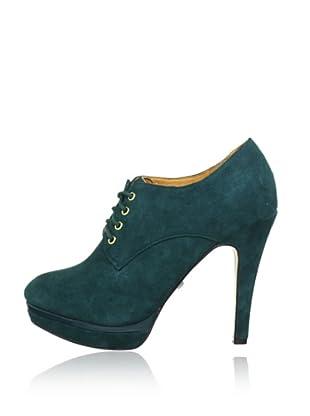 Buffalo London 112-1283 KID SUEDE 141381 - Botines de cuero  mujer (Verde)