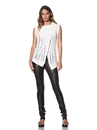 Ann Demeulemeester Women's Sweater Vest (Off-White)