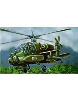 04487 1/72 AH-64A Apache Heli