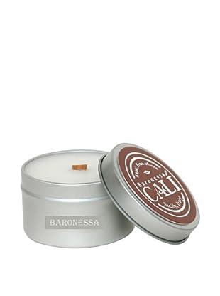 Cali Cosmetics 6-Oz. Baronessa Travel Tin