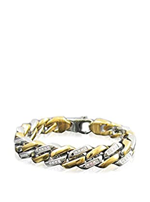 Blackjack Jewelry Armband Encrusted Cuban Link 18K