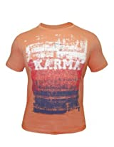 Peter England Wild Orange T-Shirt
