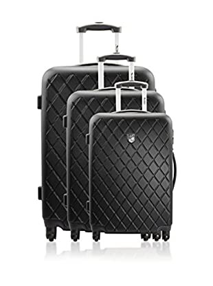 GEOGRAPHICAL NORWAY Set de 3 trolleys rígidos State