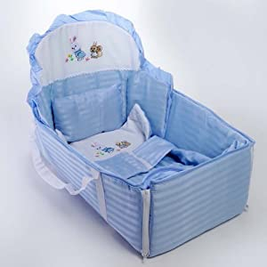 Yebhi Home Essentials Cradle-Blue