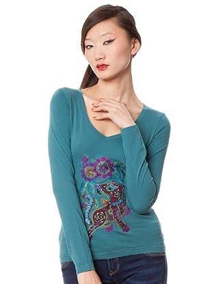 Custo Camiseta Rekus (Aguamarina)