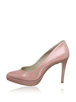 Buffalo London 23196-981 PATENT 137899 - Zapatos de tacón de cuero  mujer (Rosa)