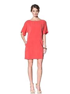 Donna Morgan Women's Drop Waist Shift Dress (Flame)