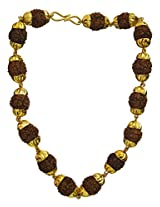 Rudraksha Bracelet - Gold Plated Metal