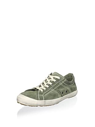 n.d.c. made by hand Women's Plims Low Softy Sneaker (Loden)