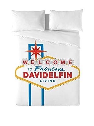 DAVID DELFIN Juego De Funda Nórdica Las Vegas