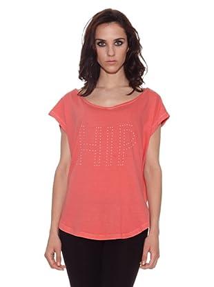 The Hip Tee Camiseta Dot Hip (Coral)