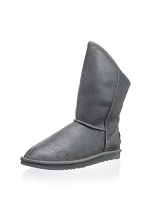 Australia Luxe Collective Women's Cozy Short Vintage Metallic Boot (Gunmetal)