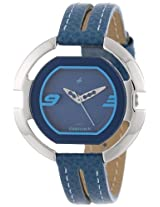 Fastrack Speed Racer Analog Blue Dial Women's Watch - NE6064SL02