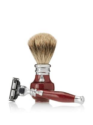 Laguiole En Aubrac Shaving Set (Amarante)