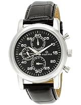 Maxima Attivo Analog Black Dial Men's Watch - 26841LMGI