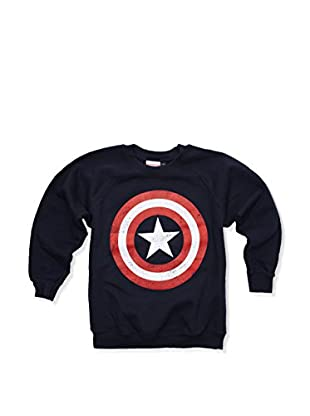 Marvel Sweatshirt Captain America Distress Shield