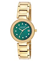 Giordano Analog Green Dial Women's Watch - P280-44