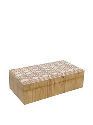 Three Hands Medium Indian Wooden Decorative Box