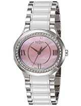 Xylys Analog Pink Dial Women's Watch - 9899SD03
