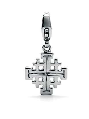 Luxenter CC874 - Charm Jerusalem Cross de plata
